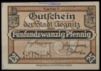 25 Pfg.,  Liegnitz Grabowski L42.8a I-  1.94 US$ 1,75 EUR  +  12.21 US$ shipping