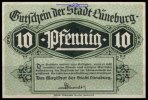 L&uuml;neburg 10 Pfg.   II Grabowski L74.2a 1,00 EUR 