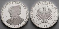 10 Euro 2013 Deutschland 200. Geburtstag Richard Wagner 3. Ausg. 2013 P... 24,95 EUR  +  7,00 EUR shipping
