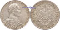 3 Mark 1913 Preussen Wilhelm II, 25jähriges Regierungsjubiläum, J.112 P... 32.20 US$ 29,00 EUR