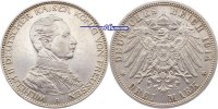 3 Mark 1914 Preussen Wilhelm II, 25jähriges Regierungsjubiläum, J.113 P... 36.66 US$ 33,00 EUR  +  38.88 US$ shipping