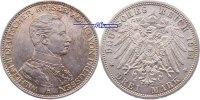 3 Mark 1914 Preussen Wilhelm II, 25jähriges Regierungsjubiläum, J.113 V... 31.09 US$ 28,00 EUR