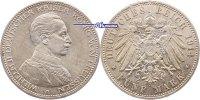 5 Mark 1914 A Preussen, Wilhelm II, 1888-1918, Büste in Uniform, J.114 ... 56,00 EUR  +  17,00 EUR shipping