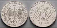 10 Euro 2013 Deutschland 125 Jahre Strahlen elektrischer Kraft -Heinric... 13,90 EUR  +  7,00 EUR shipping