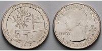 1/4 $ 2013 D USA Fort Mc Henry /D - Kupfer-Nickel - vz  2,00 EUR  Excl. 7,00 EUR Verzending
