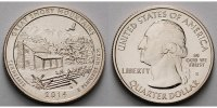 USA 1/4 $ Great Smoky Mountains Park /S - Kupfer-Nickel -