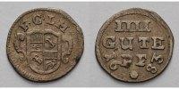 Vier-Gute-Pfennig 1683 Corvey, Abtei Christoph von Bellinghausen, (1678... 239,00 EUR  +  17,00 EUR shipping
