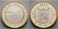 5 Euro 2014 Finnland Savonia - Taucher, Tiere der historischen Landscha... 11,50 EUR  + 7,00 EUR frais d'envoi
