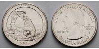 1/4 $ 2014 D USA Arches National Park /D - Kupfer-Nickel - vz  2,00 EUR  +  7,00 EUR shipping