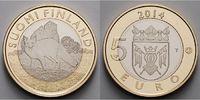 5 Euro 2014 Finnland Südwest-Finnland - Fuchs, Proper - Fox, Tiere der ... 24,80 EUR  excl. 7,00 EUR verzending