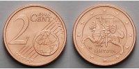 2 Cent 2015 Litauen Kursmünze, 2 Cent, Ab sofort lieferbar!!! stgl  73 руб 1,00 EUR  +  805 руб shipping