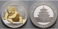10 Yuan 2015 China China Panda, teilvergoldet  stgl  48,95 EUR  + 17,00 EUR frais d'envoi