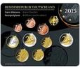 5,88 2015 F Deutschland Kursmünzensatz stgl. im Blister  23,50 EUR