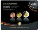 5,88 2015 J Deutschland Kursmünzensatz,   Prägestätte J  PPim Blister  2546 руб 34,50 EUR  +  2583 руб shipping