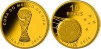 10 Reais 3,96g fein 16 mm Ø 2014 Brasilien Fußball Weltmeisterschaft 20... 995,00 EUR  +  23,00 EUR shipping