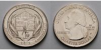 1/4 $ 2015 P USA Homestead Monument /P - Kupfer-Nickel - vz  2,00 EUR  +  7,00 EUR shipping