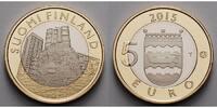 5 Euro 2015 Finnland Uusimaa - Igel, Tiere der historischen Landschafte... 27,80 EUR  +  17,00 EUR shipping