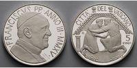 5 Euro 2015 Vatikan 48. Weltfriedenstag PPSilber  114,50 EUR  +  17,00 EUR shipping