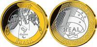 1 Reais 2014 Rio Oly. Sommer Rio 2016 - Paratriathlon 03 / 16, im origi... 14,95 EUR  + 7,00 EUR frais d'envoi