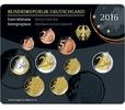 5,88 2016 J Deutschland Kursmünzensatz,   Prägestätte J stglim Blister  23,50 EUR  +  7,00 EUR shipping