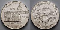 1 $ 2001 USA Eröffnung des Besucherzentrums im Kapitol zu Washington,in... 89,00 EUR  +  17,00 EUR shipping