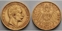 Preussen 20 Mark, 7,16g <br>fein <br>22,5 mm  Wilhelm II. 1888-1918<br> <b>Diverse Jahrgnge nach unserer Wahl</b>