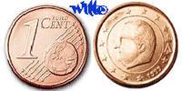 1 Cent 2004 Belgien Kursmünze, 1 Cent stgl  1,00 EUR  + 7,00 EUR frais d'envoi