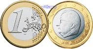 1 Euro 2008 Belgien Kursmünze, 1 Euro * Archivbild stgl  9,90 EUR  +  7,00 EUR shipping