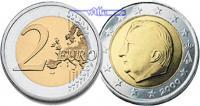 2 Euro 2007 Belgien Kursmünze, 2 Euro stgl  14,00 EUR  +  7,00 EUR shipping