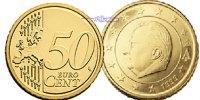 50 Cent 2004 Belgien Kursmünze, 50 Cent stgl  3.33 US$ 3,00 EUR