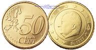 50 Cent 2002 Belgien Kursmünze, 50 Cent stgl  5,00 EUR  +  7,00 EUR shipping