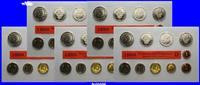 63,40DM 1991 A/D/F/G/J SET Deutschland Amtlicher Kursmünzensatz in Foli... 108.82 US$ 98,00 EUR
