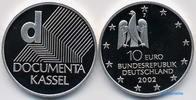 10 Euro 2002 Deutschland Dokumenta in Kassel,3. Ausg. in 2002 PP  37,00 EUR