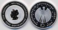 Deutschland 10 Euro Fuball WM 06/1 S. Fuball 3.Ausg.in 03, Buchst.nach unserer Wahl