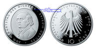 10 Euro 2004 Deutschland Eduard Mörike5. Ausg. in 2004 stgl  15,50 EUR