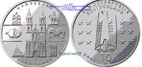 10 Euro 2005 Deutschland 1200 Jahre Magdeburg 5. Ausg. in 2005 PP  37.18 US$ 33,00 EUR  +  39.43 US$ shipping