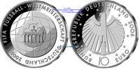 10 Euro 2006 Deutschland Fußb.WM 06/4.S.Fußball 2.Ausg.in 2006Buchst.na... 30.98 US$ 27,90 EUR