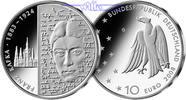 10 Euro 2008 Deutschland 125. Geburtstag Franz Kafka,3. Ausg. in 2008 PP  35,00 EUR  Excl. 17,00 EUR Verzending