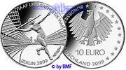 10 Euro 2009 G Deutschland Leichtathletik WM in Berlin, 1. Ausg. in 200... 19,90 EUR  Excl. 7,00 EUR Verzending