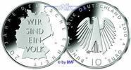 10 Euro 2010 Deutschland 20 Jahre Deutsche Einheit4. Ausg. in 2010 PPSt... 36.66 US$ 33,00 EUR  +  38.88 US$ shipping