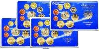 50,72DM 1989 D/F/G/J SET Deutschland Amtlicher Kursmünzensatz in blauem... 65,00 EUR  +  17,00 EUR shipping