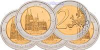 2 Euro 5x 2011 A/D/F/G/J Deutschland Kölner Dom, kompl. Satz(5 Prägestä... 16,90 EUR  +  7,00 EUR shipping