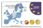 5,88 2006 F Deutschland Kursmünzensatz + 2 € Sonderm. PP  im  Blister  28,80 EUR  + 17,00 EUR frais d'envoi
