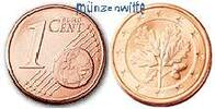 1 Cent 2004 F Deutschland Kursmünze, 1 Cent stgl  0,70 EUR  + 7,00 EUR frais d'envoi