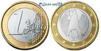 1 Euro 2005 F Deutschland Kursmünze, 1 Euro stgl  14,50 EUR  + 7,00 EUR frais d'envoi