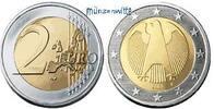 2 Euro 2002 A Deutschland Kursmünze, 2 Euro stgl  12,50 EUR  Excl. 7,00 EUR Verzending