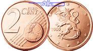 2 Cent 2003 Finnland Kursmünze, 2 Cent stgl  4,00 EUR