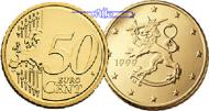 50 Cent 2007 Finnland Kursmünze, 50 Cent stgl  3,50 EUR  +  7,00 EUR shipping