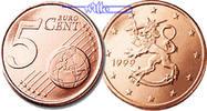 5 Cent 1999 Finnland Kursmünze, 5 Cent stgl  4,00 EUR  + 7,00 EUR frais d'envoi
