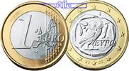 1 Euro 2006 Griechenland Kursmünze, 1 Euro stgl  8,50 EUR  +  7,00 EUR shipping